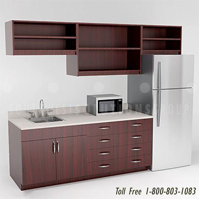 Breakroom Casework Cabinets Modular Laminate Bim Revit Models Break Room Kitchen Models Design Your Kitchen
