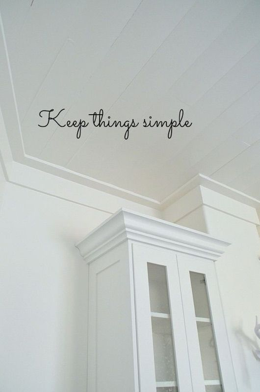 Flat stock vs  Crown Molding | Molding Options in 2019 | Ceiling