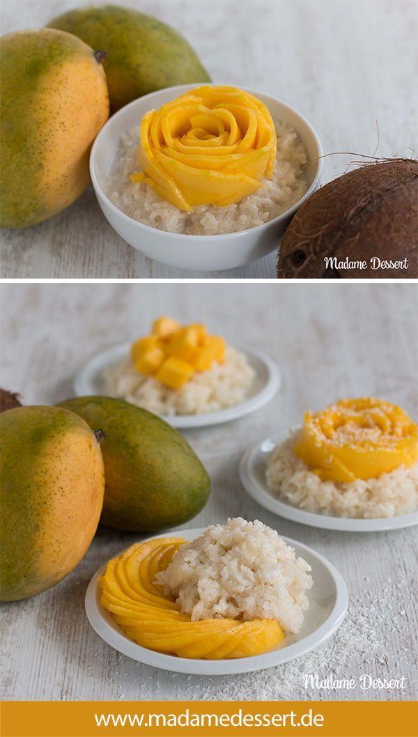 Mango mit Sticky Rice – Thailands Dessert Klassiker | Madame Dessert