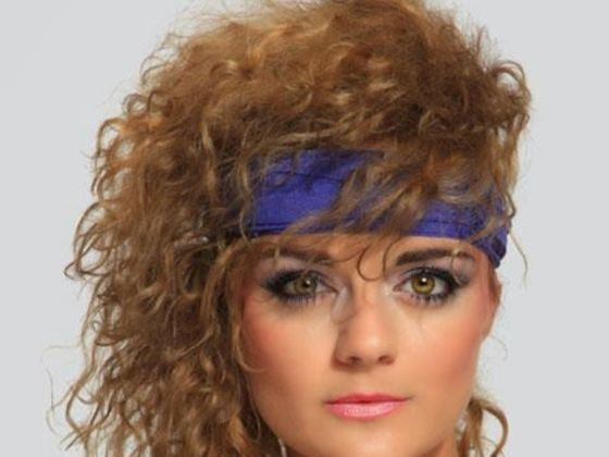Hair Style In The 80s : 80s Hairstyles on Pinterest 1940s Hairstyles, Softball Hair Braids ...