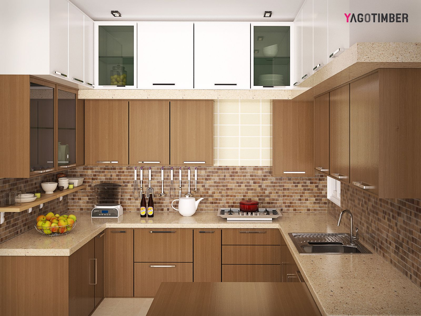 Yagotimber.com Is Presenting Latest #LShaped And #UShaped Modular Kitchen  Designs For Your #home. Yagotimber.com Is Presenting Latest #LShaped And # UShaped ...