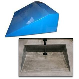 Concrete Countertop Rubber Sink Mold Sdp 29 Traditional Ramp