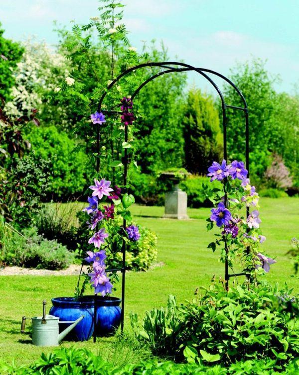 Hervorragend Garten Gestalten Garten Bogen Pflanzen
