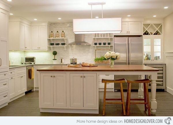 15 Beautiful Kitchen Island With Table Attached Home Design Lover Kitchen Island Table Combination Kitchen Island With Seating Kitchen Island Table