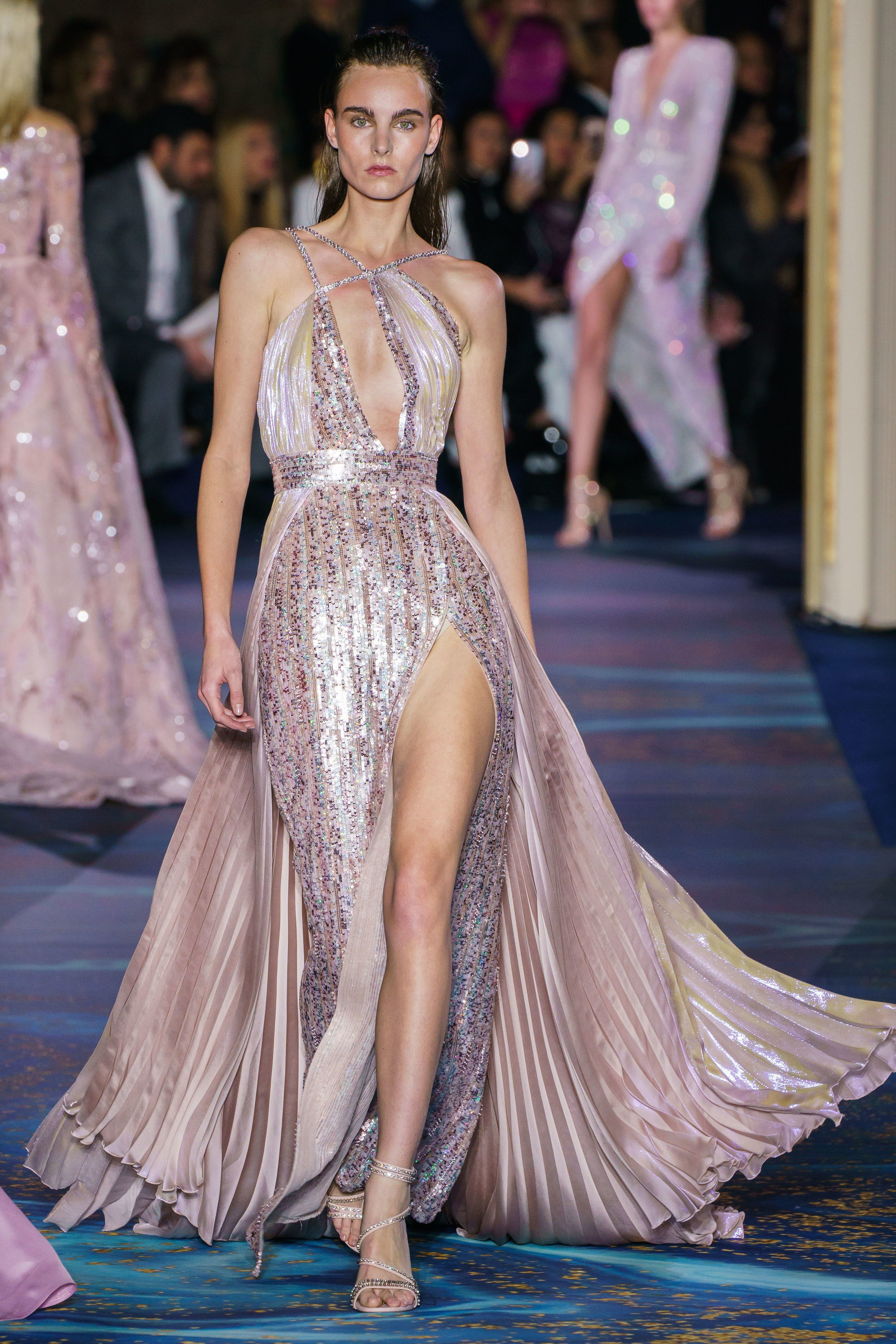 eb84ed8a31c Zuhair Murad Spring 2019 Couture Fashion Show in 2019
