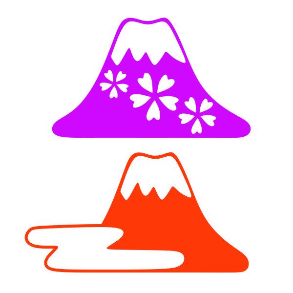 Mount Fuji Japan Cuttable Design Cut File Vector Clipart Digital