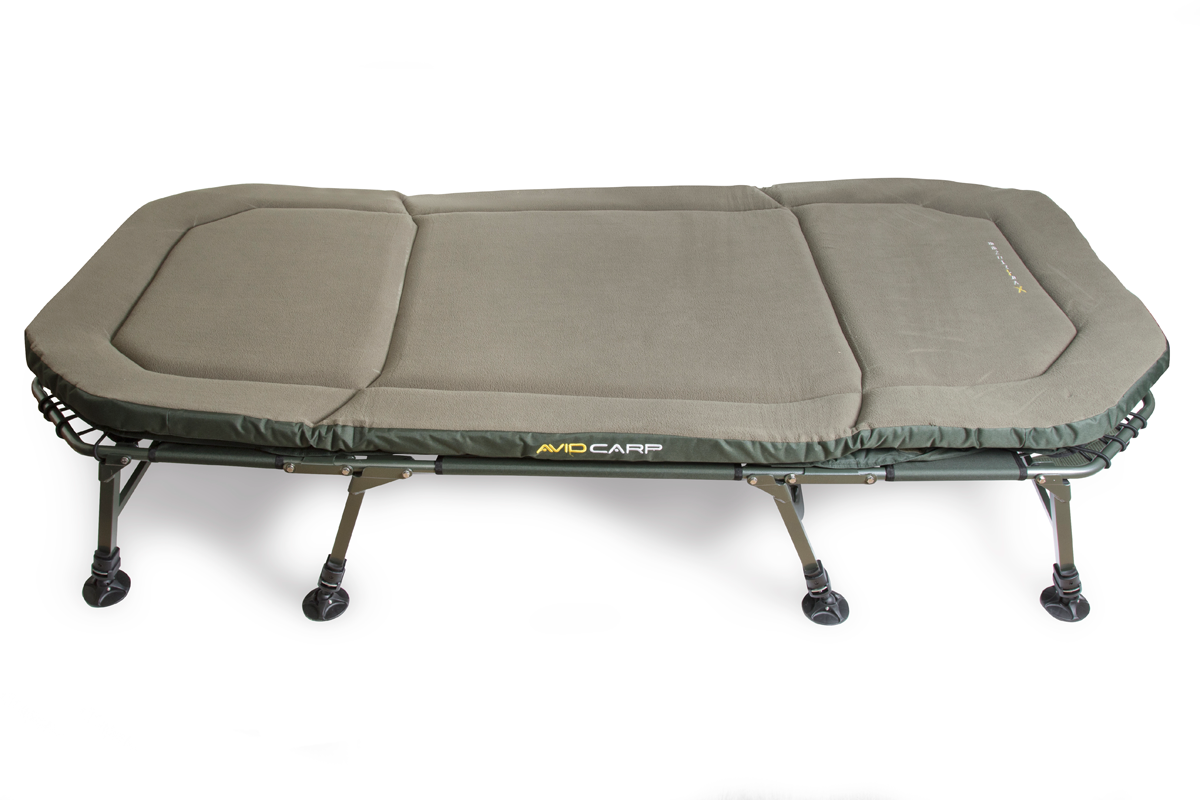 """New Carp Fishing Benchmark Beds with 2"""" Memory Foam"""