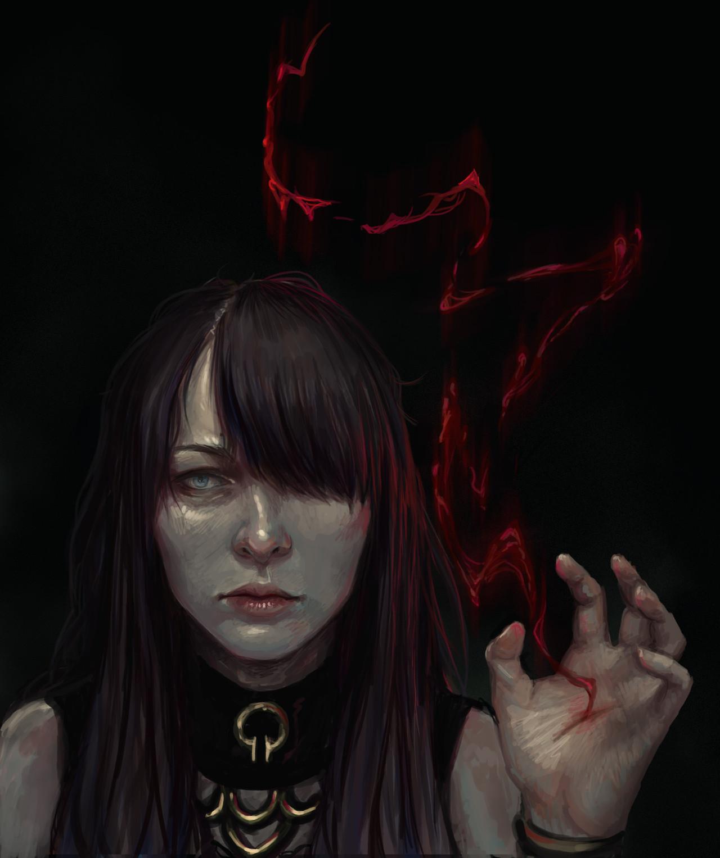 Blood Mage By Linn Kristine Pettersen @wearemage
