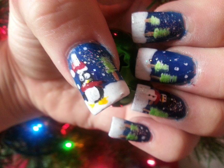 xmas glee - Nail Art Gallery | nails | Pinterest | Nail art ...