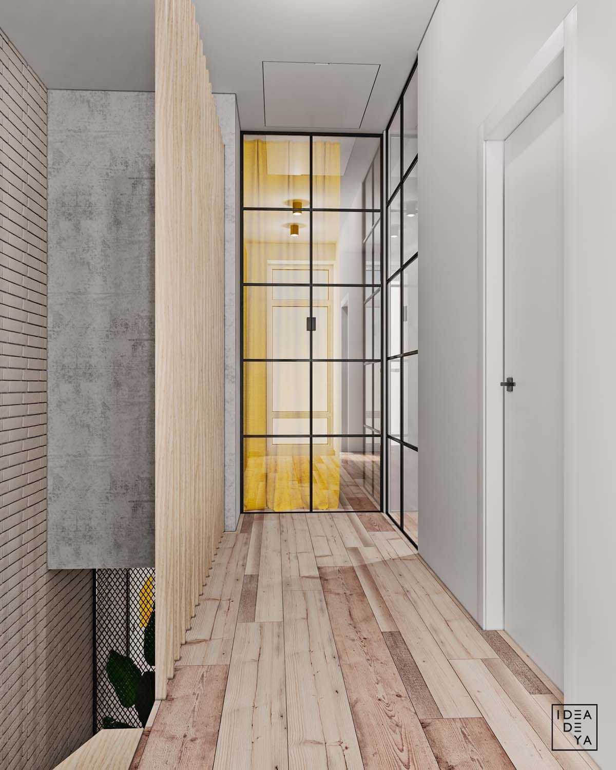 Superb This 114 Sqm (1227 Sqft) Home Based In Lviv, Ukraine Uses Small Pops Of  Bright Colour To Lift A Neutral Backdrop. Visualised By IDEADEYA Design  Studio, ...