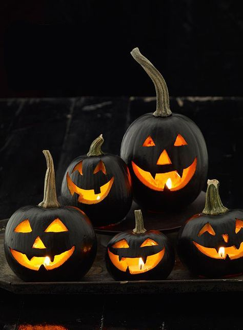 14 Chic Ways To Dress Up Your Pumpkin This Halloween Halloween - ways to decorate for halloween