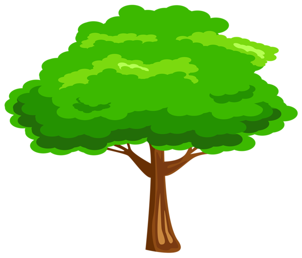 Green Tree Png Image Cartoon Trees Picture Tree Tree Images