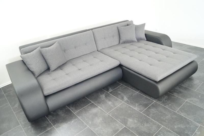 neu sofa couch wohnlandschaft leder imitat struktu polsterm bel sofa. Black Bedroom Furniture Sets. Home Design Ideas
