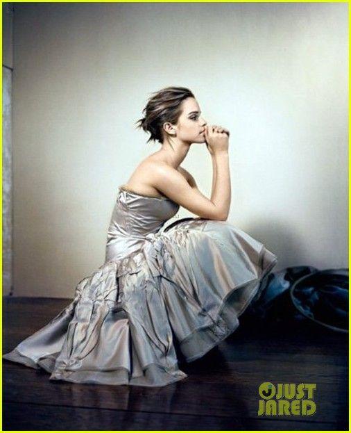 Emma Watson Covers 'Glamour UK' October 2012