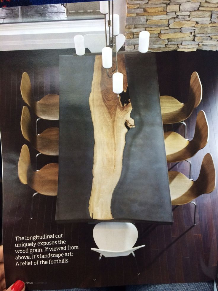 Image Result For How To Inlay Concrete With Wood Concrete Dining Table Concrete Wood Wood Table