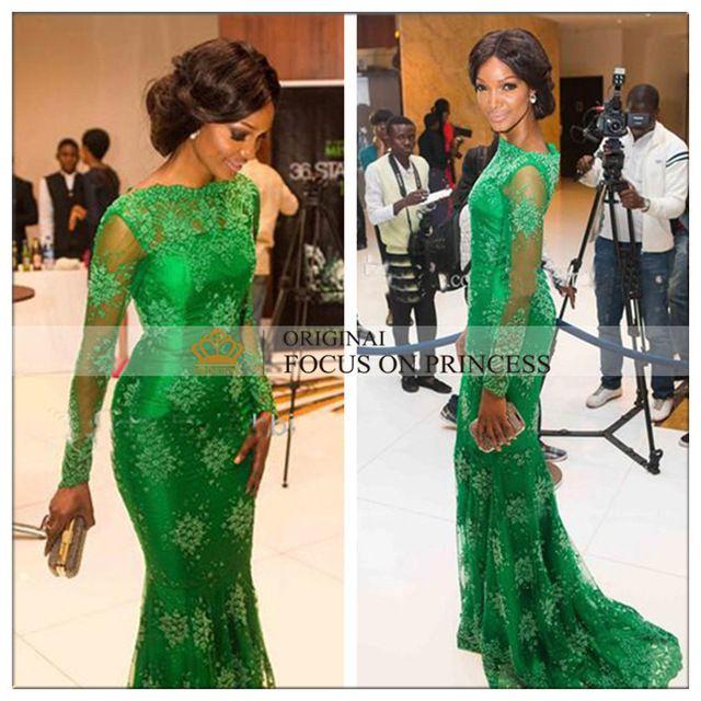 2015-New-Style-Red-Carpet-Miss-Arabic-Style-Nigeria-Mermaid-Long-Sleeves-Green-Lace-Evening-Dresses.jpg_640x640.jpg (640×640)