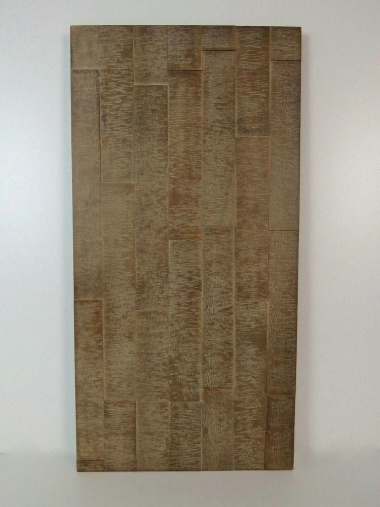 Akazie Leimholz 800x400x26mm Tiefenoptik Endbehandelt Massivholzplatte Vintage Vintage Holz