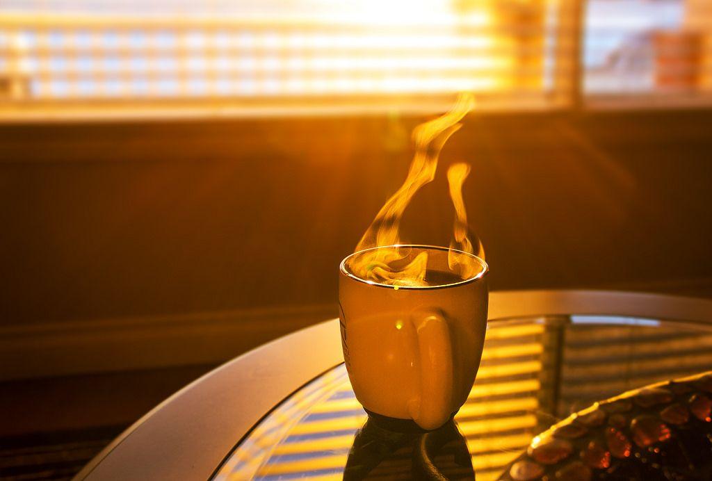 Родительское, восход солнца картинки красивые с кофе