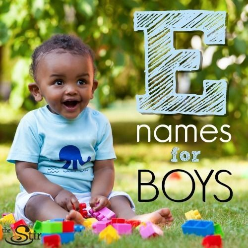 25 Elegant Names for Baby Boys Starting With an 'E' (With ...