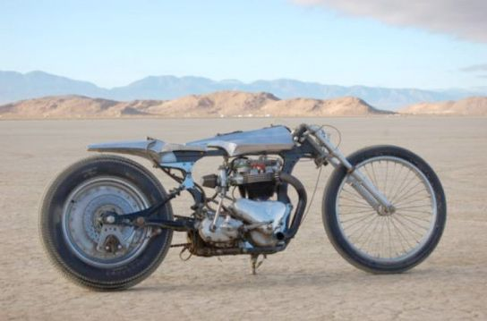 "1957 triumph ""needle"", by Shinya Kimura for Chabott Engineering"