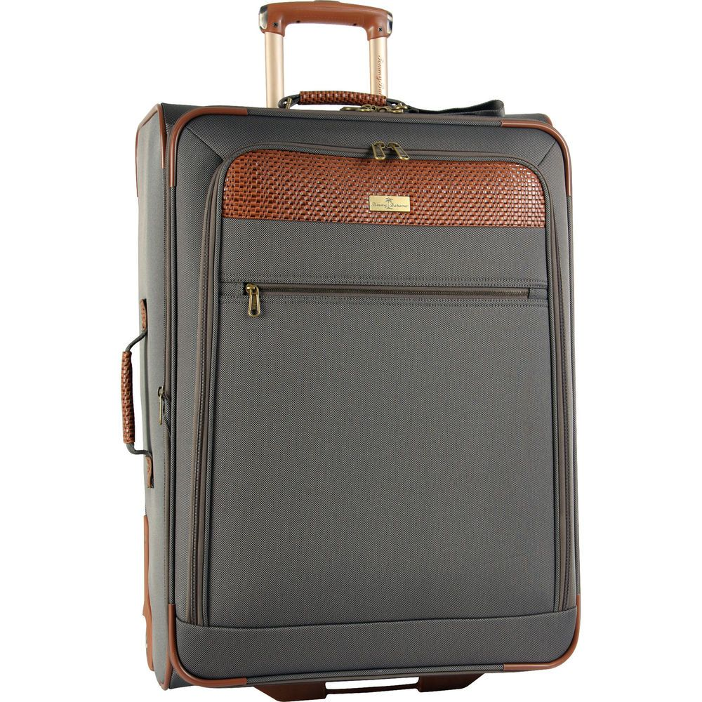 """TOMMY BAHAMA RETREAT II BROWNSTONE BROWN 28"""" EXPANDABLE SUITCASE - $420 VALUE…"""