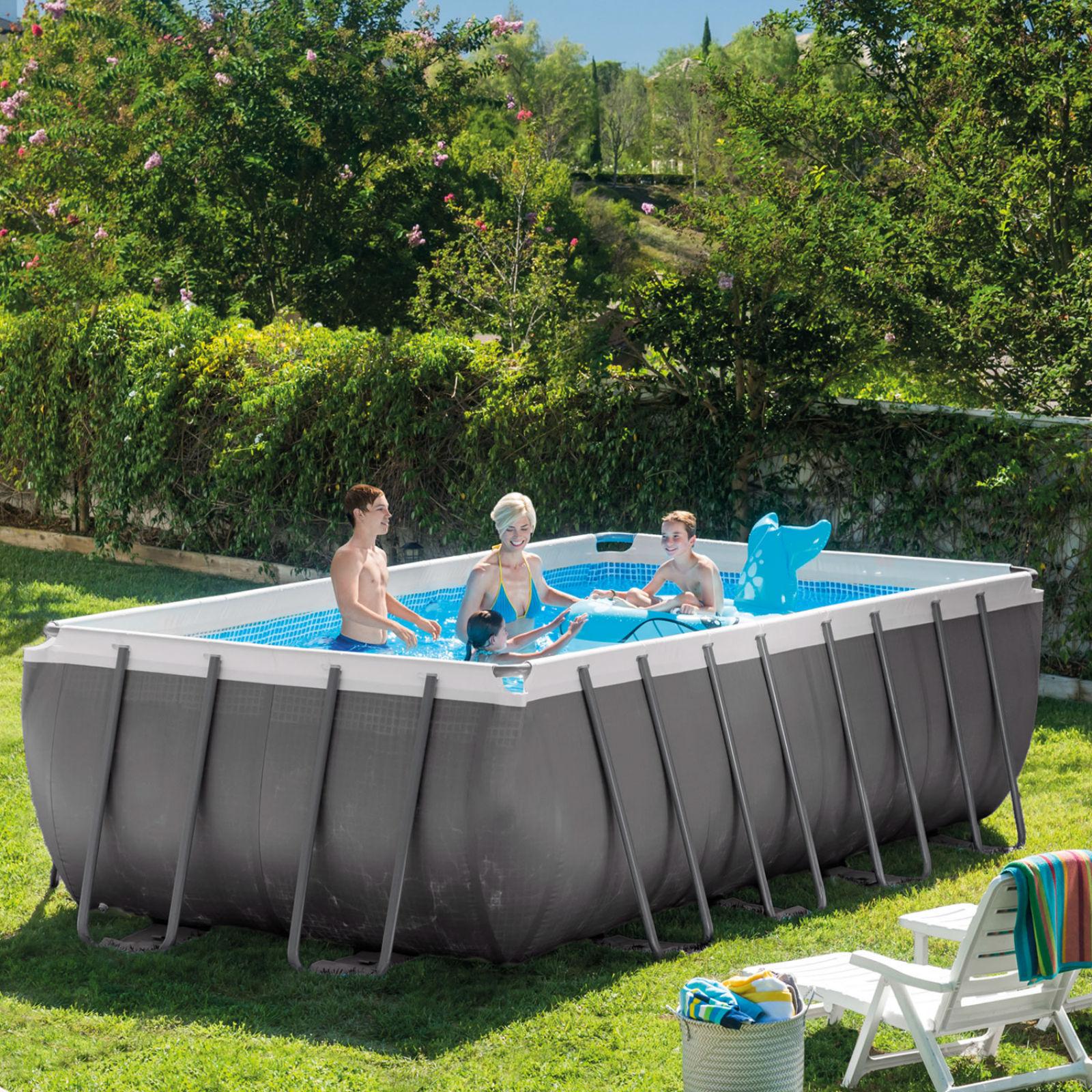 Rectangular Above Ground Swimming Pools Vs Classic Pools In 2020 Intex Swimming Pool Swimming Pools Intex