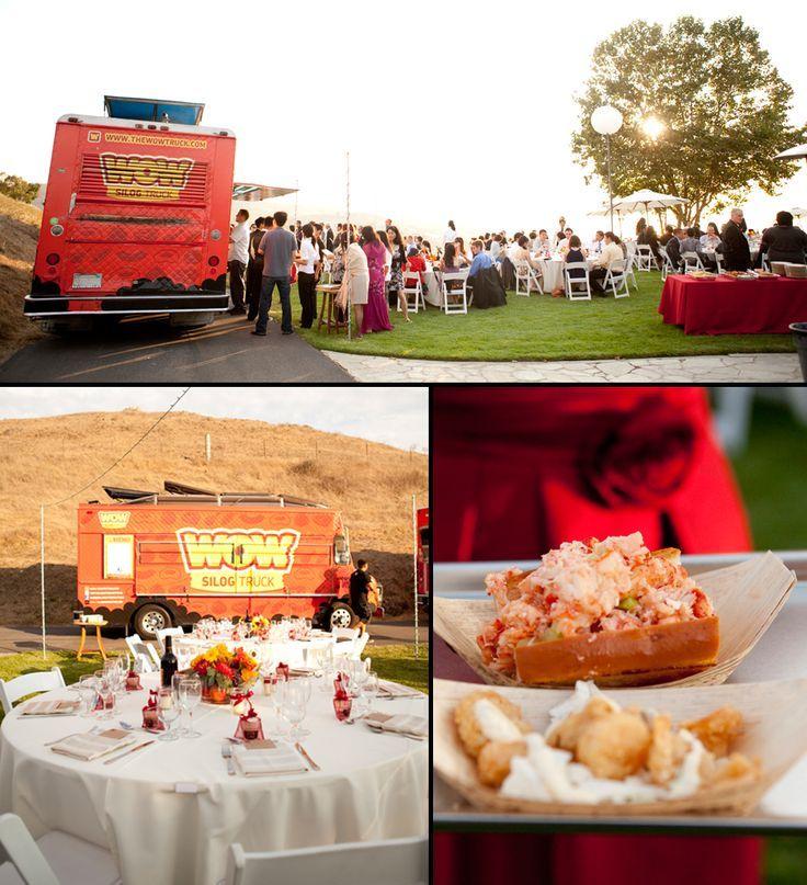 Los Angeles San Diego Food Truck Wedding Ideas