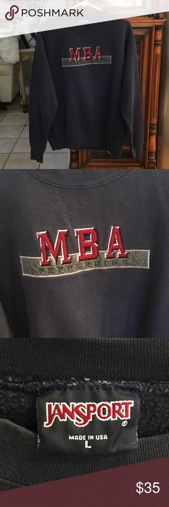 Vintage Pepperdine University Sweatshirt Made in USA
