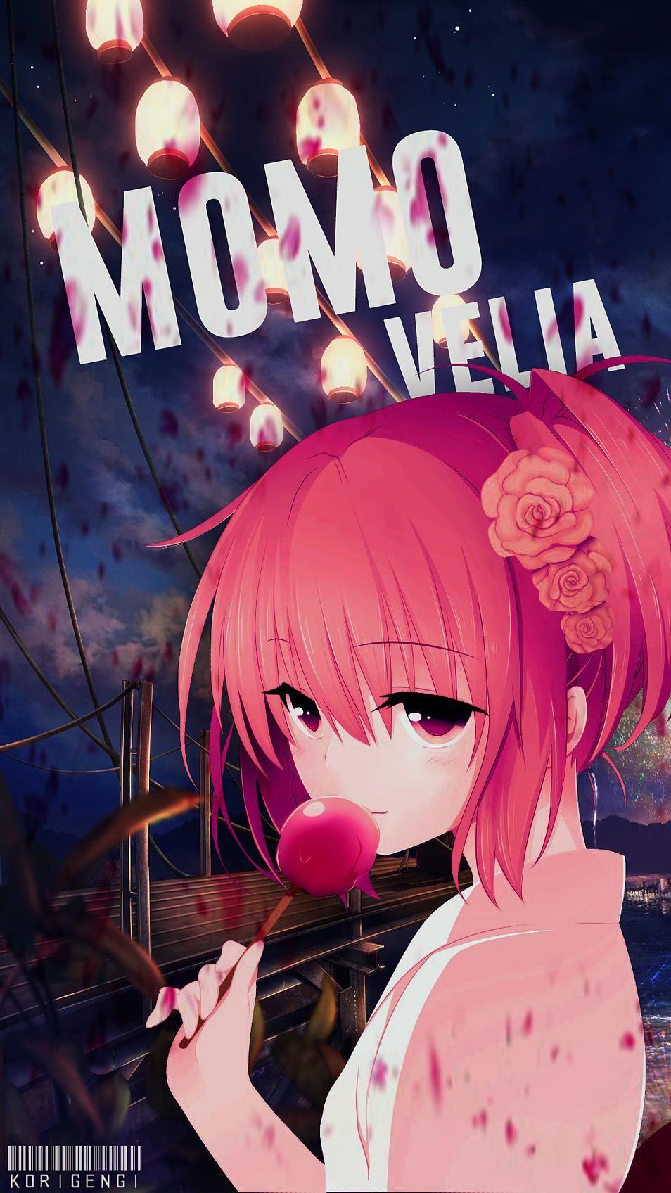 Momo Velia Korigengi Wallpaper Anime Anime Kawaii Cinta Anime Manga Anime