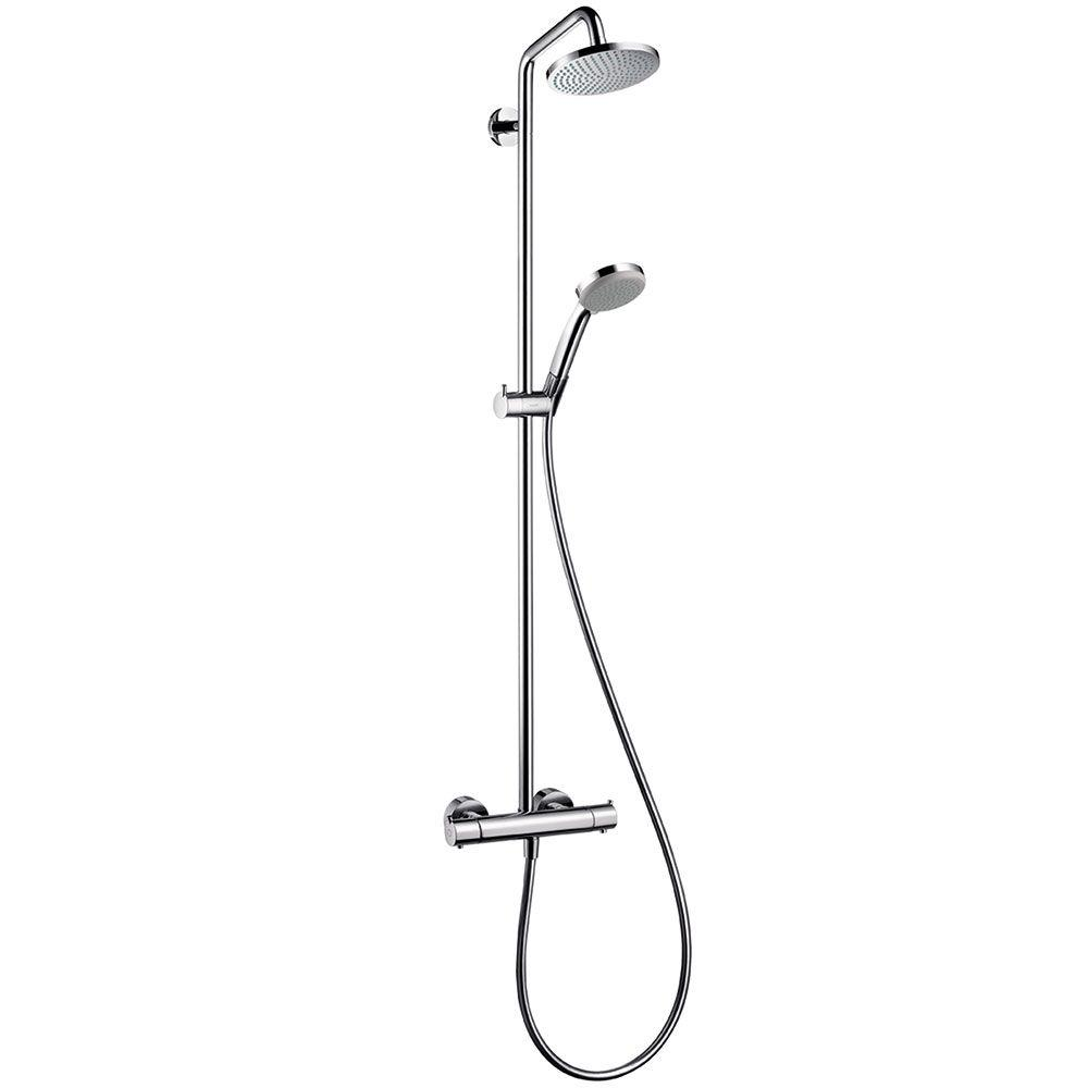 Hansgrohe 4 Spray 5 375 In Dual Shower Head And Handheld Shower