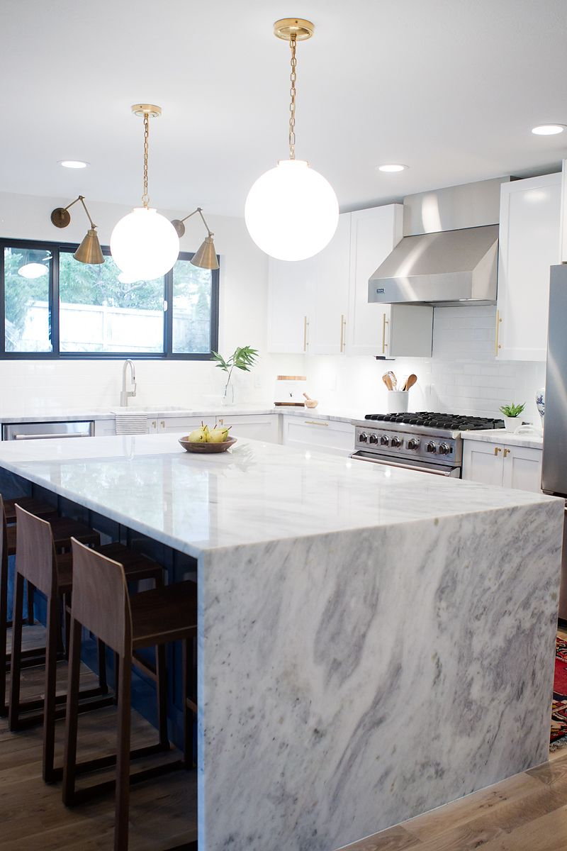 Wonderful Modern Kitchen Countertop Options   Super White/New Super White Quartzite  (withHEART)
