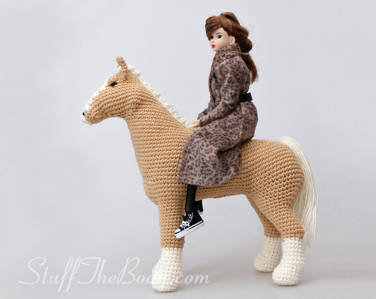 Pony crocheted horse 20