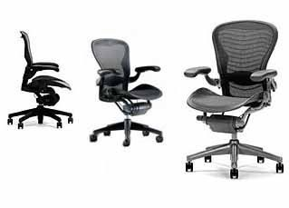 Aeron Chair Herman Miller Highly Adjustable With Lumbar Support