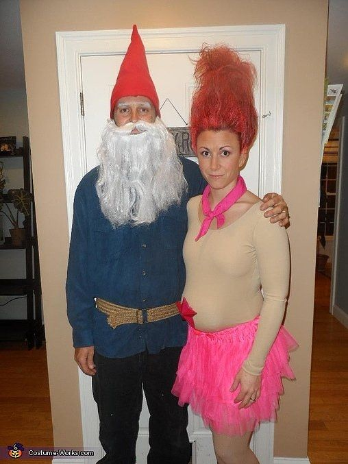 Treasure troll and garden gnome Costumes Pinterest Halloween - cute halloween ideas for couples