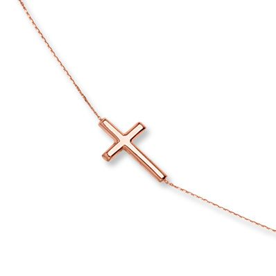 8d7b84b58 Cross Bracelet 14K Rose Gold | Products | Rose gold, Jewelry, Gold