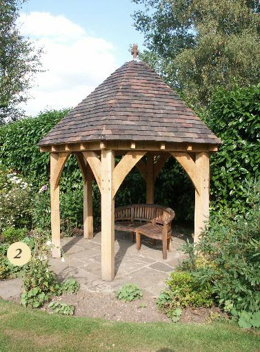 Oak Framed Garden Building 2