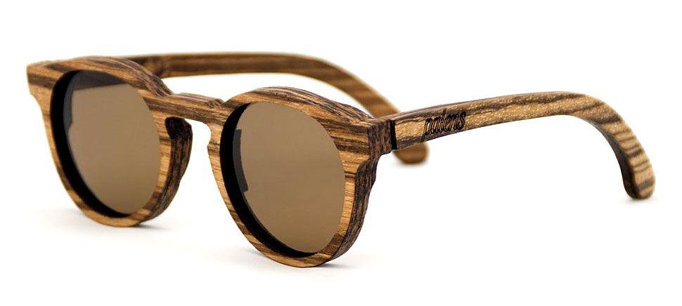 Wood Sunglasses Birdi Zebrawood - Made 100% of Wood