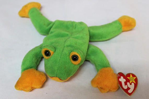 e33361c3901 Ty Beanie Baby Smoochy the Frog