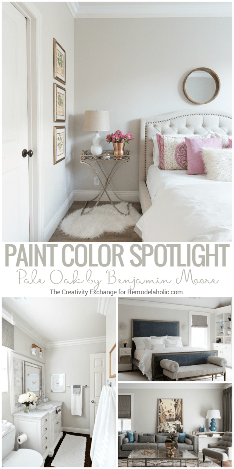 Pale Oak By Benjamin Moore is a balanced and versatile warm neutral ...