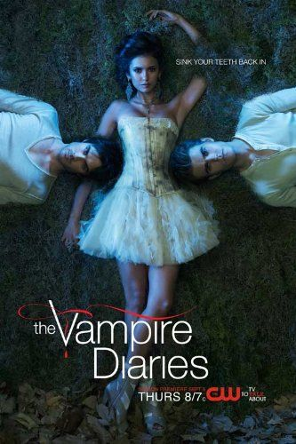 11x17 The Vampire Diaries Sink Your Teeth Back In Tv Poster