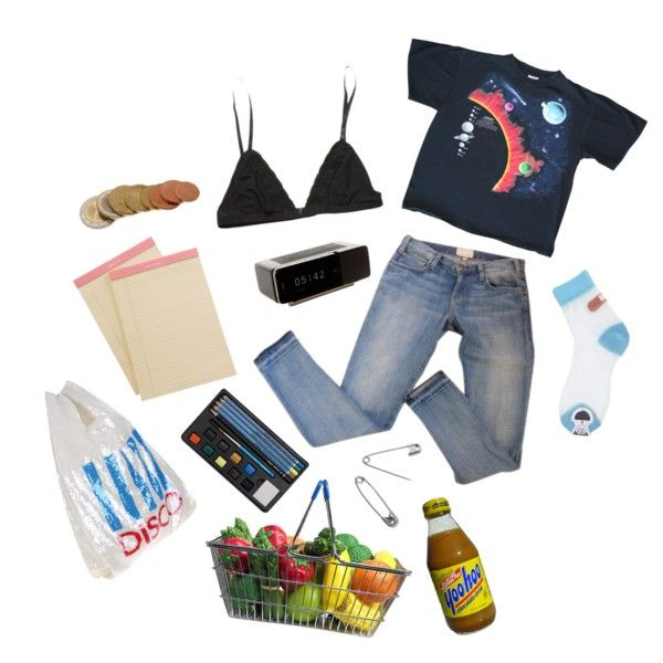 groceries ++ tag by kampow on Polyvore featuring Ashish, Aspinal of London and Jonas Damon