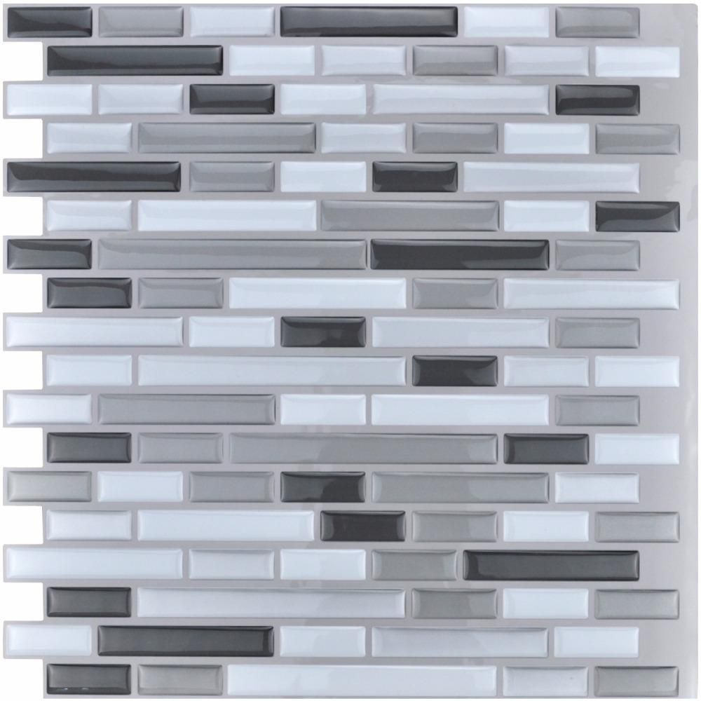 Peel And Stick Tiles Kitchen Backsplash Tiles 12 X12 3d Wall Stickers 6 Tiles Pack Kitchen Backsplash Peel And Stick Stick Tile Backsplash Stick On Tiles