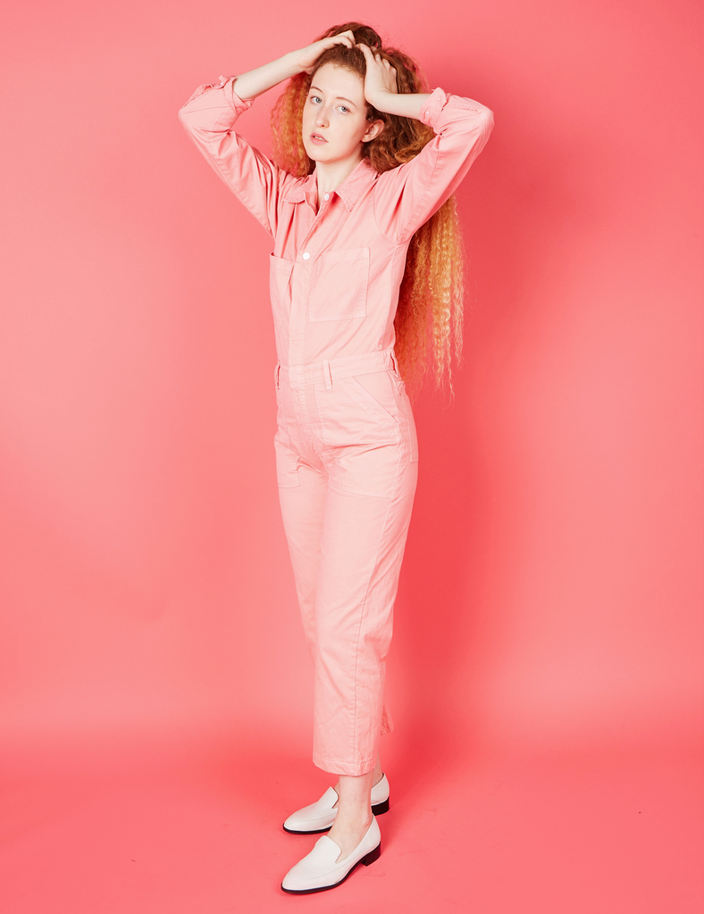 c88bd44a474 Everyday Jumpsuit - Flamingo Pink – BIG BUD PRESS