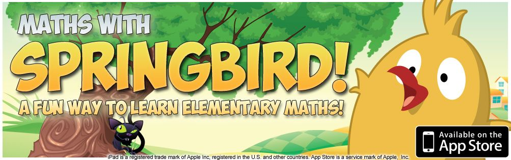 Don't just keep them busy- give them App fun doing Math with Springbird