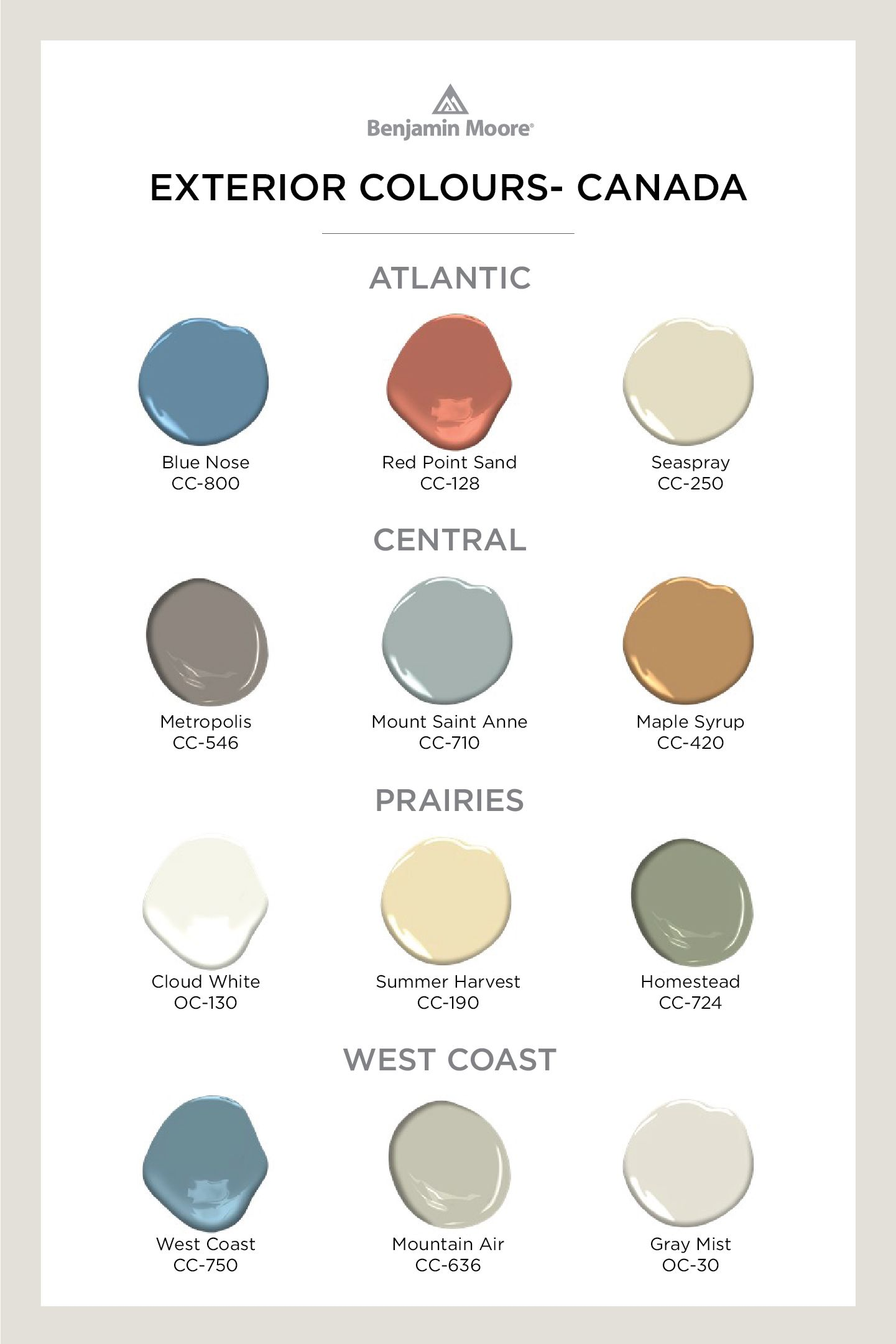 Home Exterior Colour Ideas Inspiration Benjamin Moore In 2020 Exterior Color Palette Exterior House Paint Color Combinations Exterior House Colors