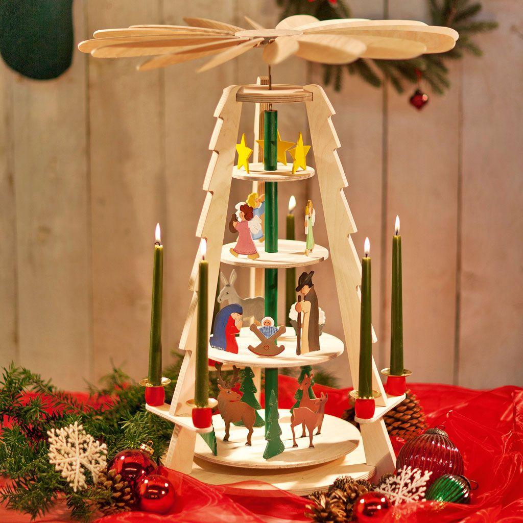 bauanleitung weihnachtspyramide weihnacht. Black Bedroom Furniture Sets. Home Design Ideas
