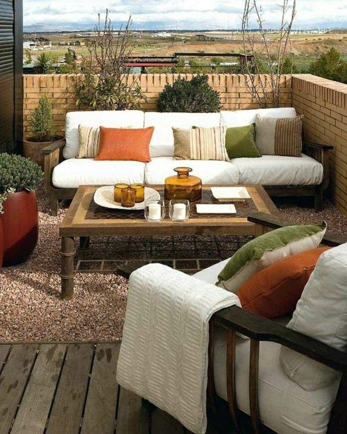 loungemöbel für balkon bunte kissen resized GARTENGESTALTUNG - garten loungemobel anthrazit