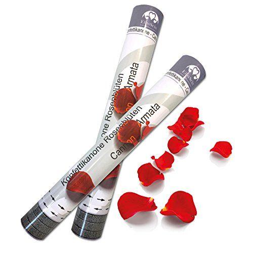 Ein Muss bei jeder Hochzeit!!! 5x Konfettikanone Hochzeit rot Rosenblüten EinsSein® 40cm... https://www.amazon.de/dp/B01ARPZHS2/ref=cm_sw_r_pi_dp_x_hJbTybZTM0CCX