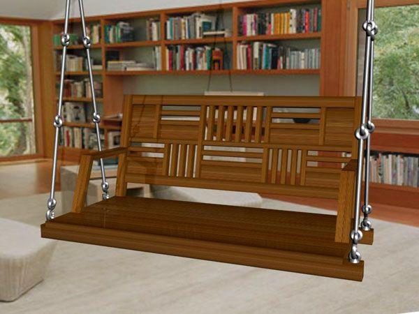 Classic Indian Wooden Swings For Living Room Design No Mec 8 Teakwood Wooden Swings
