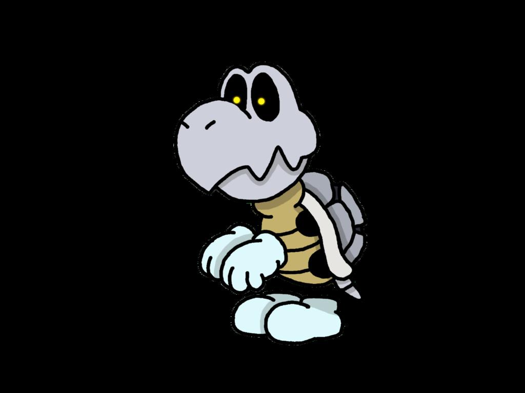 Dry Bones Mario By ThePiDay On DeviantArt Video Games 1024x768 Png